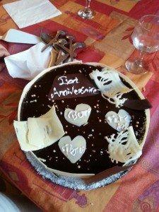 Royal au chocolat fête des père